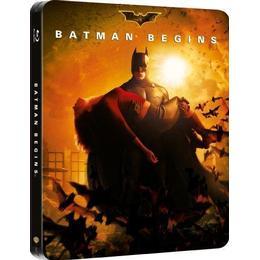 Batman Begins - Limited Edition Steelbook [Blu-ray] [2005] [Region Free]
